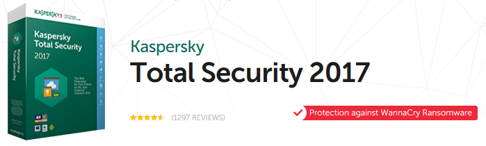 Bank Holiday Bargain 50% off Kaspersky Total Security