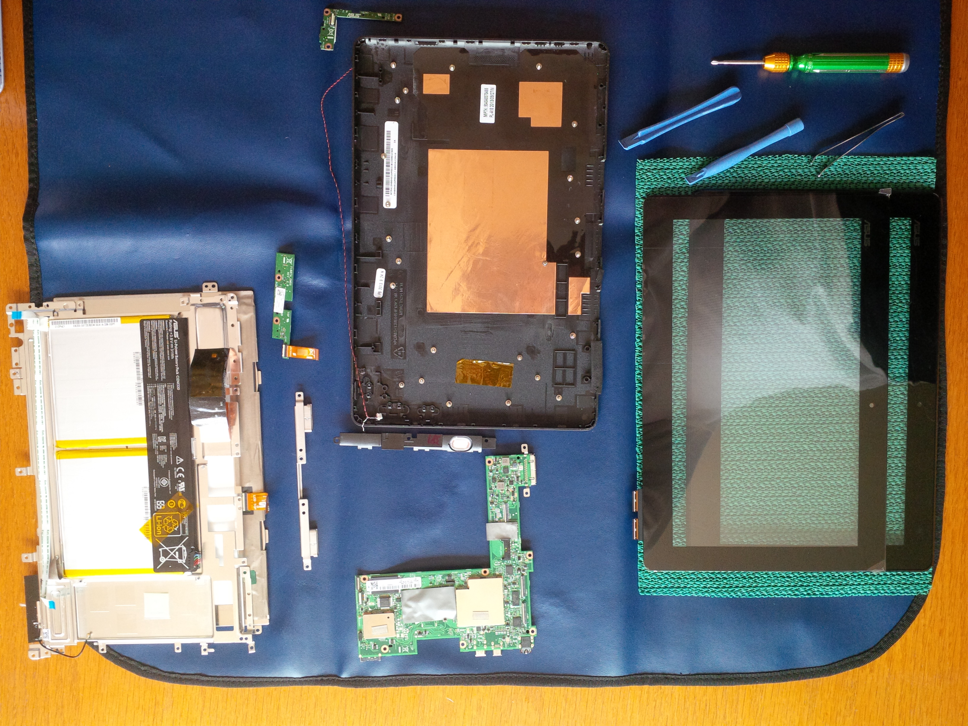 Asus T100 Digitizer Replacment