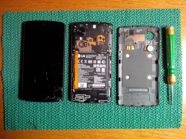 Nexus 5 Stripped